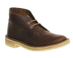 Buy Beeswax Leather Clarks Originals Desert Boots from OFFICE.co.uk.