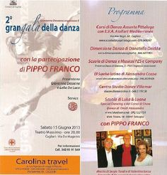 2nd DANCE GALA – MASSIMO THEATRE – CAGLIARI – SATURDAY JUNE 15