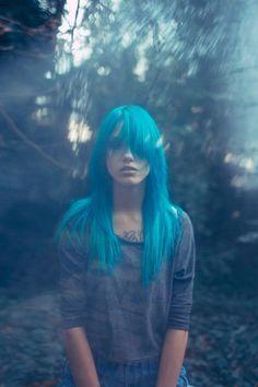 Light blue hair <3