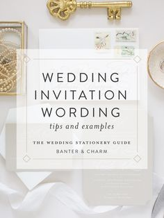 Deciding on the wording for your invitation can be like a . - Deciding on the wording for your invitation can look like a daunting task. Wedding Invitation Wording Examples, Wedding Invitation Etiquette, Wedding Invitation Samples, Destination Wedding Invitations, Wedding Invitation Design, Wedding Stationery, Letterpress Invitations, Invites, Wedding Wording