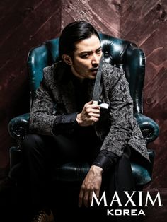 Verbal Jint Speaks Out in Maxim Korea Regarding Homosexuality Rumors and Diss Battle | Koogle TV