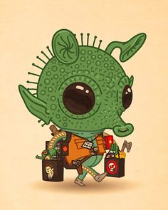 Mike Mitchell - Exclusive San Diego Comic Con 2015 Print: Greedo (Just Like Us)
