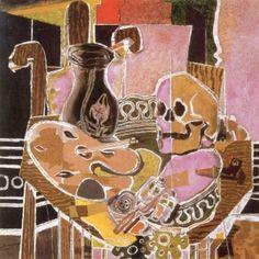 Studio with Skull - Georges Braque - The Athenaeum