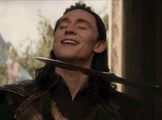 And still radiant when he has a knife to his throat   Reasons Why Loki Is The God Of Your Dreams