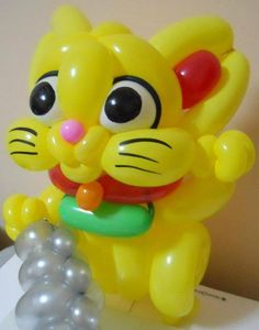 Balloon Lucky Cat...