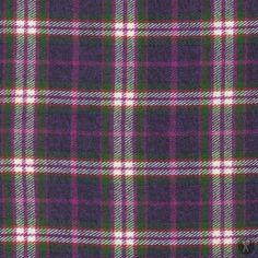 Vancouver Yarn Dyed Plaid Flannel - Plum/Pink/White