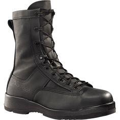 880 ST Belleville Men's Waterproof Safety Boots - Black Safety Shoes For Men, Safety Footwear, Belleville Boots, Best Work Shoes, Slip Resistant Shoes, Flight Deck, Black Boots, Leather Boots, Combat Boots