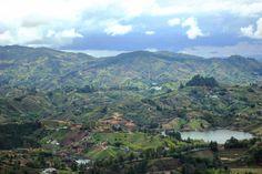 Для бесконечного разглядывания деталей:) вид с верхущки камня. #Colombia #Antioquia