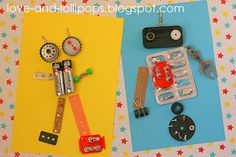Love and Lollipops: Recycled Robots
