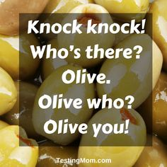 Here's a knock-knock joke for the kiddos!