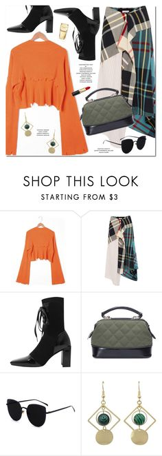 """""""Orange Sweater"""" by oshint ❤ liked on Polyvore featuring J.W. Anderson and Michael Kors"""