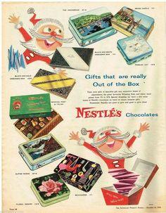 Nestle's Chocolate ~ Australia  1958