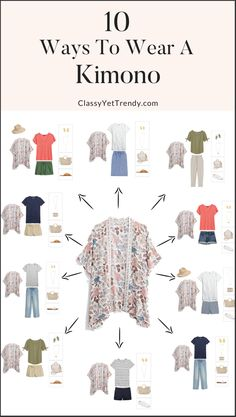 Outfits With Hats, Casual Outfits, Cute Outfits, Fashion Outfits, Summer Outfits, Kimono Fashion, Fashion Clothes, Women's Fashion, Capsule Wardrobe Mom