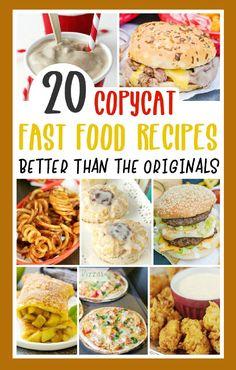 Fast Healthy Meals, Easy Meals, Restaurant Recipes, Dinner Recipes, Organizing Hacks, Copykat Recipes, Good Food, Yummy Food, Food Hacks