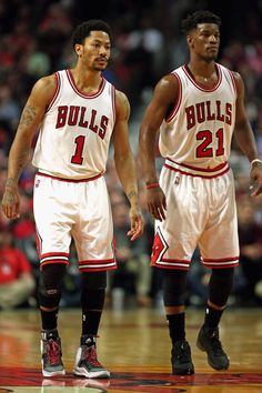 Derrick Rose & Jimmy Butler Playoff's Action is FAN-Tastic