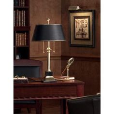 Have had this same lamp in my home library for 23 years!!!  Office Lighting and Decor By LampsPlus.com