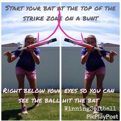 One of the most overlooked skills in the game- the bunt!!