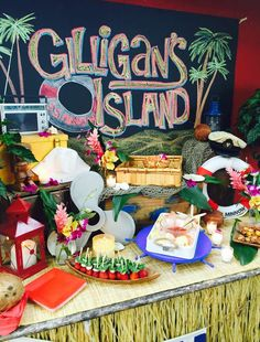 Gilligan's Island birthday party food! See more party planning ideas at CatchMyParty.com!