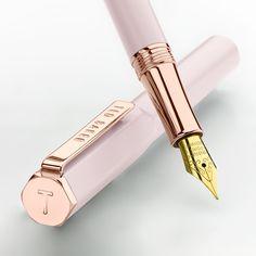 Ted Baker Pink Quartz Premium Fountain Pen - Ted Baker