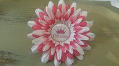 Princess flower clip