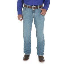 Wrangler Men's 20X Slim Jeans Cool Vantage (Size: 38x34) Light Blue