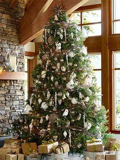 Luxe Lodge Christmas tree