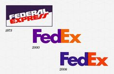 "FedEx Year Company Founded: 1973  Year Logo Introduced: 1973  Logo Designer: Richard Runyan (1973), Lindon Leader, Landor Associates (1994), Landor Associates (2000, 2006)  Company Founder: Fredrick W. Smith  In 1971, the FedEx logo was the full name of the company, ""Federal Express,"" in blue and red at a slant, meant to be intentionally patriotic and associate the company with the U.S. government. The initial logo helped FedEx become successful, and in 1994, the current logo was created. If…"