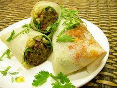 Cari Makan? Try This Chinese Popiah Recipe. Popiah skin recipe, plus fresh ingredients to start with. Related recipe - Egg Rolls and Sp...