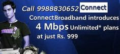 Plans of connect broadband in chandigarh. Call 9888884172 and book #connect #broadband in #chandigarh and mohali. Contact and phone numbers.