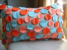Polka Dot Pillows Add Zest to Home Decor » On the Dot Creations
