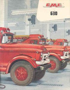 GMC 620 Fire Truck