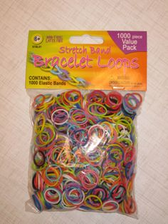 8ebcdeaa Amazon.com: Kimo's Rainbow Loom Rubber Bands Refill 600 Loom Band Rainbow  Colors Variety Value Pack with 24 S Clips - 100% Compatible with All Other  Rainbow ...