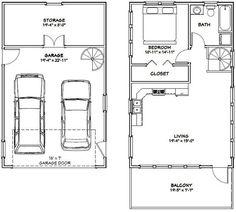 Garage Loft Apartment, Apartment Floor Plans, Garage Apartments, Garage Plans With Apartment, Apartment Interior, Faux Brick Panels, Brick Paneling, Cabin House Plans, House Floor Plans