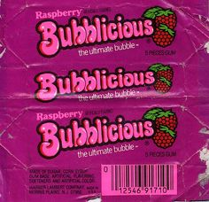 Raspberry Bubblicious gum - THis was my favorite flavor! Bedroom Wall Collage, Photo Wall Collage, Picture Wall, Aesthetic Collage, Pink Aesthetic, Bubblicious Gum, Deco Retro, Style Retro, Pink Walls