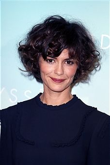 Actress Audrey Tautou attends 'L'Odyssee' Paris Premiere at Cinema UGC Normandie on October 3, 2016 in Paris, France.
