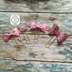 Check out this item in my Etsy shop https://www.etsy.com/uk/listing/262364690/pink-and-gold-planner-paper-clip-set
