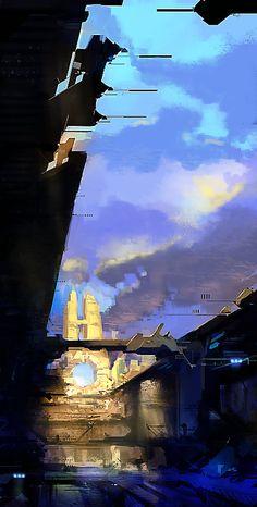 ArtStation - Sci-Fi Concept 2 (circa 2010) , Adam Daroszewski