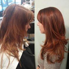 Red hair by Cynthia