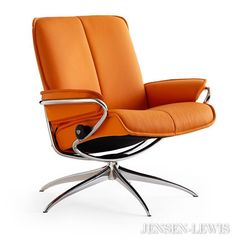 Stressless City Low Back Recliner