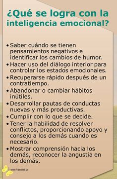 Autoayuda y Superacion Personal Psychology Facts, Emotional Intelligence, Self Development, Self Esteem, Self Improvement, Affirmations, Namaste, Life Quotes, Inspirational Quotes