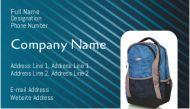Bag shop visiting cards at your doorstep. just click away to get the bag shop business cards
