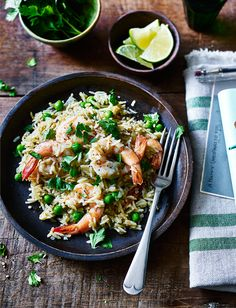 Our Thai prawn and coconut rice recipe is gluten-free and dairy-free and can easily be doubled to feed hungry mouths in just 30 minutes