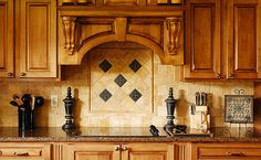4×4 golden sienna travertine tiles install brick style & medallion with metal insert