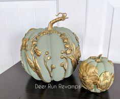 Fake Pumpkins, Plastic Pumpkins, Fabric Pumpkins, Painted Pumpkins, Velvet Pumpkins, Glass Pumpkins, Pumpkin Crafts, Cute Pumpkin, Fall Crafts