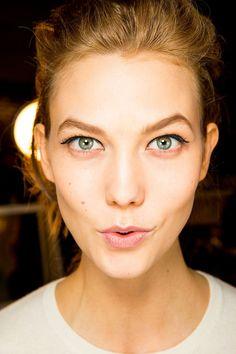 Karlie kloss kate spade holiday 2015 ad campaign new - Maneras de maquillarse ...