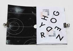 ISTD 2013 - books still? - Hydrogen by Jasmine Davies, via Behance