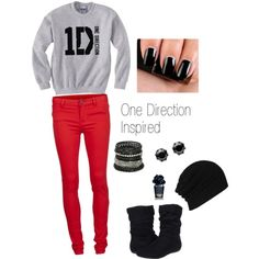A One Direction inspired outfit <3
