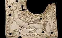A Duck in Ivory c.1st century AD, Afghanistan