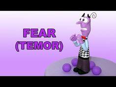 How to make Fear with gum paste / Cómo hacer a Temor con pasta de goma - YouTube