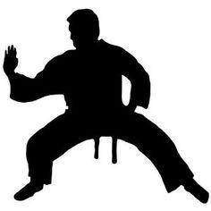 VRS Heart Beat Line KARATE jiu ju jitsu MMA High Kick Splits Man CAR VINYL DECAL